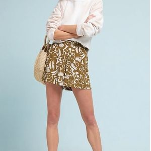 Anthropology Clearwater Printed Shorts